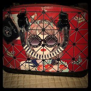 Nicole Lee Dome Satchel purse